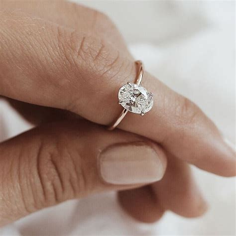 25 best ideas about oval 25 best ideas about oval solitaire engagement ring on