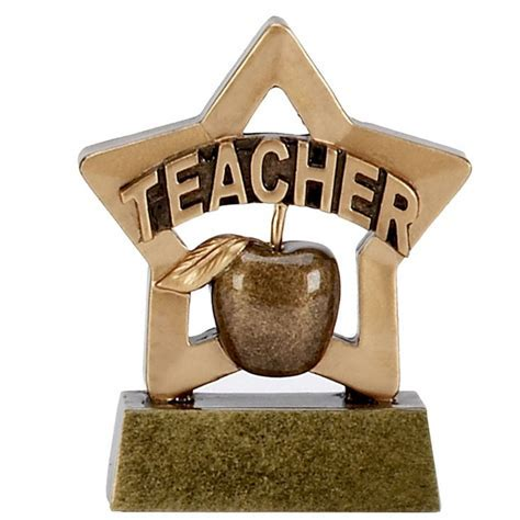 Mini Stars Resin Teacher Trophy ? A1110   Winning Awards