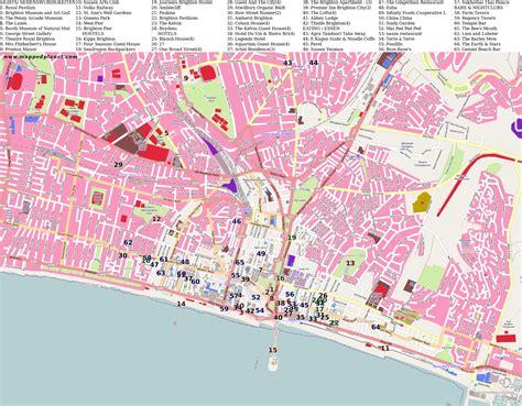 printable maps brighton city maps brighton
