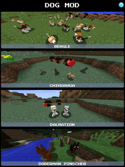 mod game download app app shopper dog mod for minecraft game pc edition games