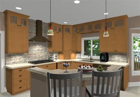 l shaped island l shaped kitchen with island ideas