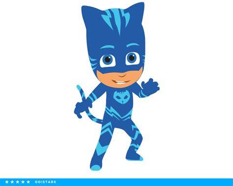 pj masks clipart silhouette pj masks svg catboy svg