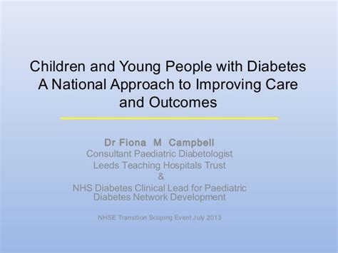 mood swings diabetes children and young people with diabetes fiona cbell
