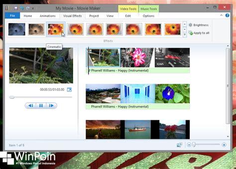 cara membuat video animasi dengan movie maker cara membuat video dengan windows movie maker winpoin
