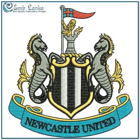 logo design newcastle newcastle united fc logo embroidery design emblanka com