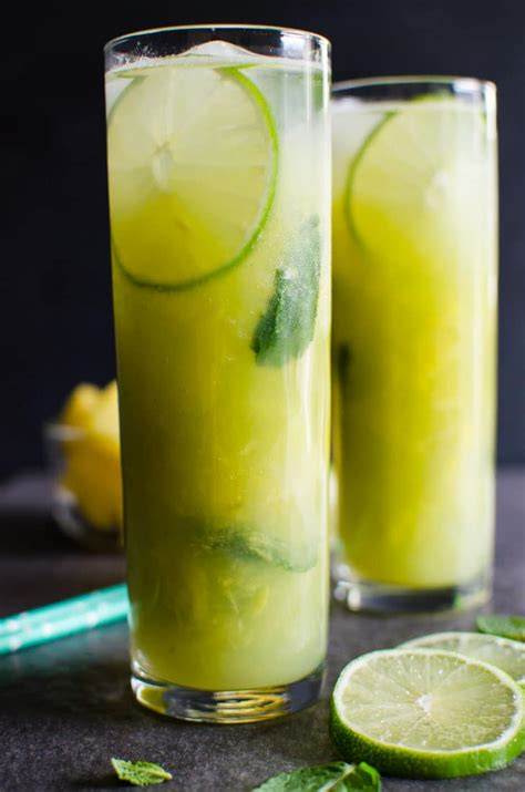 Links Pineapple Mojito by Non Alcoholic Pineapple Mojito What U Eat