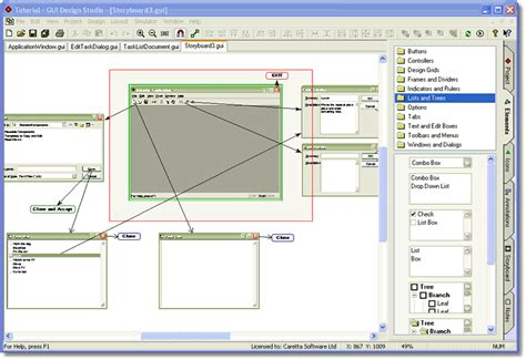 gui design studio adalah caretta software announces the release of gui design