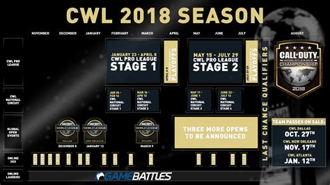 league play overview call of duty world league call of duty world league 2018 season details announced