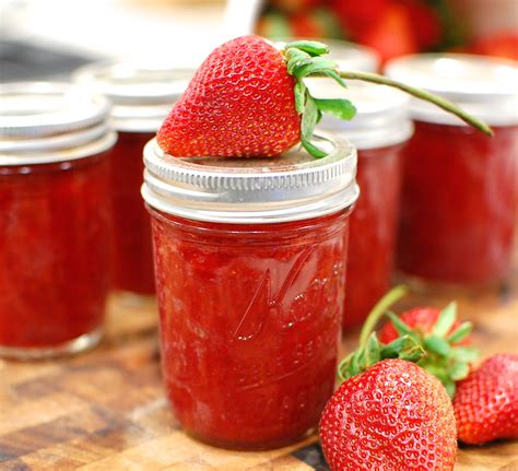 low sugar fresh strawberry jam how to make and water bath can strawberry jam the 350 degree oven