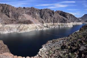 Lake Mead Bathtub Ring Lake Mead Suffers Lowest Level In History Since It Was