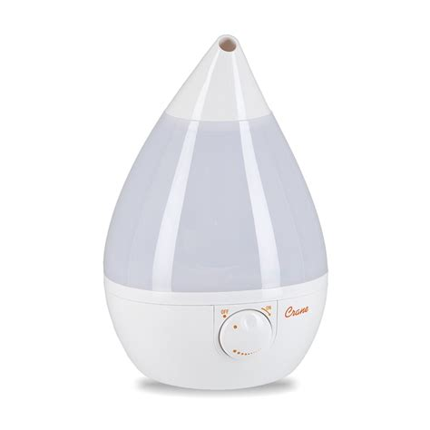 room humidifier target new crane drop shape ultrasonic cool mist humidifier with 2 3 gallon day white ebay