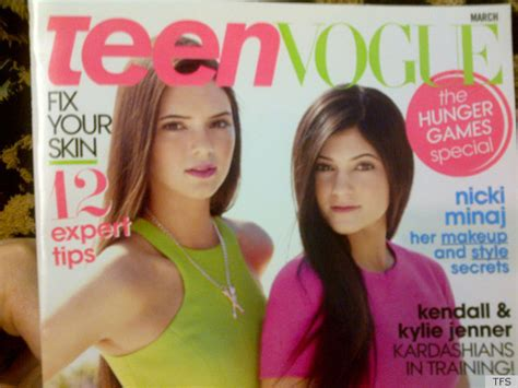 kaia gerber tfs kendall and kylie grace teen vogue the price of red