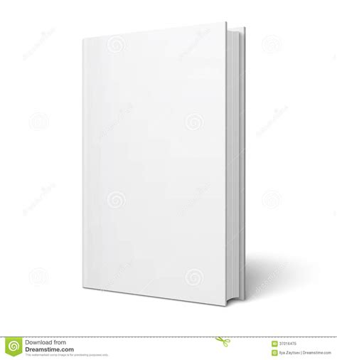 blank phlet template blank vertical book template stock vector image 37016475