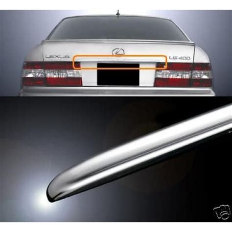 Trunk Lid Belakang Grand Yaris Chrome 1 1995 1996 1997 1998 1999 2000 lexus ls400 chrome trunk lid cover celsior jdm vip