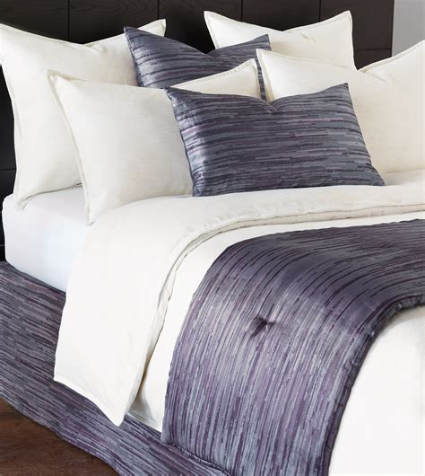 how to make a bed scarf niche luxury bedding by eastern accents horta lilac bed
