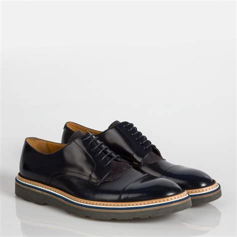 thom shoes paul smith s navy leather thom shoes in blue for