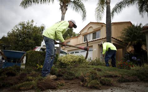 california gardeners lose work during drought al jazeera america