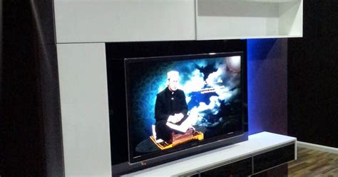 Kabinet Besi 4 Tingkat Kabinet Tv Megatech Kabinet Tv Model L1900