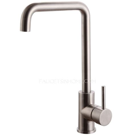 stainless steel kitchen faucets best stainless steel seven shaped kitchen faucet nickel