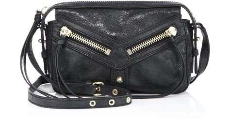 Balenciaga Bacon East West Bag by Botkier Trigger Leather East West Crossbody Bag In Black
