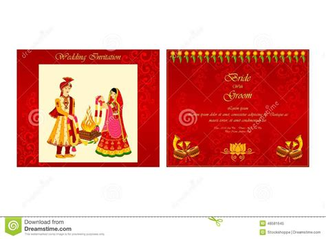 editable hindu wedding invitation cards templates free indian wedding invitation card stock vector illustration