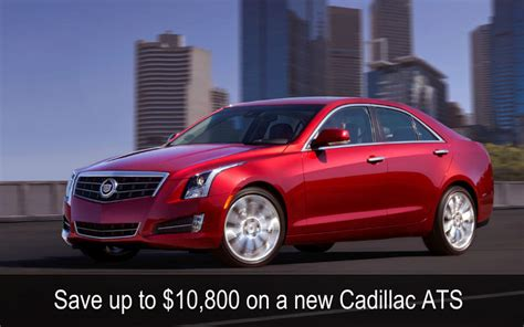 the performance car show deals discount vouchers by auto show discounts on new chevrolets and cadillacs