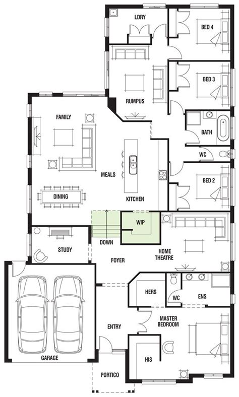porter davis floor plans 17 best images about future floor plan options on