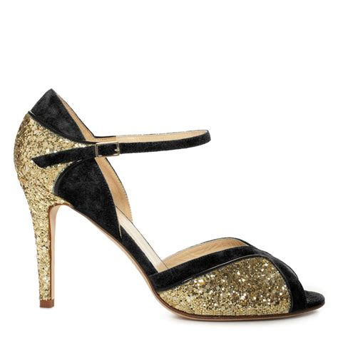 Heels Black List Gold gold and black heels qu heel
