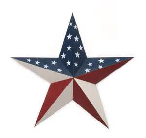 36 Inch Barn Star Darice Americana Patriotic Decorating