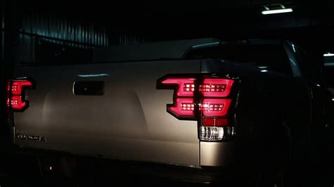 toyota tundra tail light sequential tail light toyota tundra 07 13 youtube