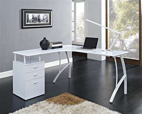 Desk For Home Office by L Shaped Corner Computer Desk Office Home Pc Table In