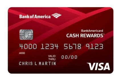 Bofa Visa Gift Card - bank of america credit card options