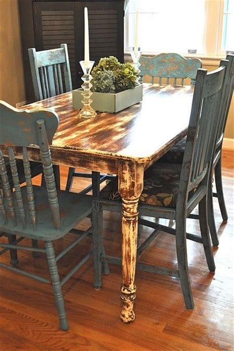 1000 images about distressed kitchen table on pinterest