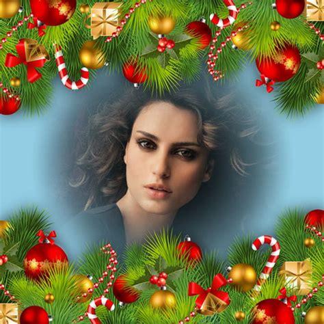 imágenes de navidad gratis montajes de fotos con adornos navide 241 os para crear t 250