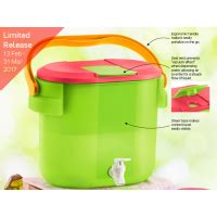 Tupperware Seal Canister 8 7l Tutup outdoor cooler 1 8 7l 185 tupperware plus