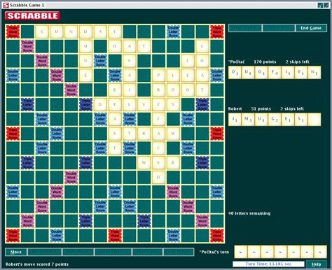 international scrabble international remote scrabble