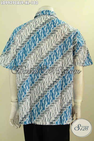 Kemeja Katun Primis Halus Motif Parang batik hem trendy motif parang kemeja batik halus