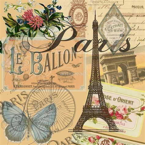 vintage picture collage quot vintage collage europe travel quot by