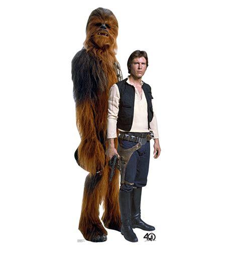 Han X Han Yolo size han and chewbacca wars 40th