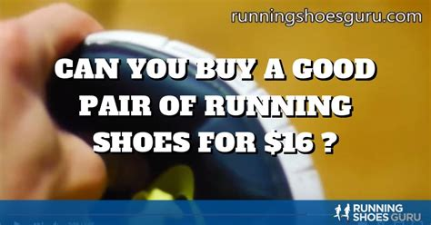 buy  good pair  running shoes