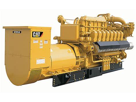 gas to electricity generator cat gas generator g3516e caterpillar