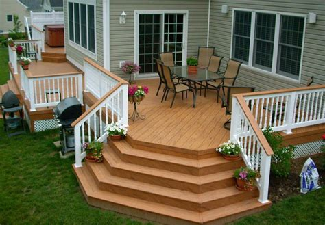 manufactured home deck designs house design ideas