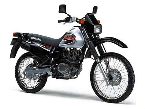 Dr 125 Suzuki Suzuki Dr125 1985 2001 Review Mcn