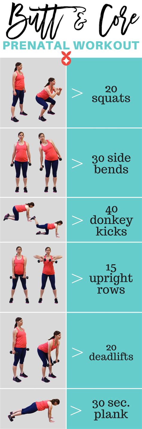 healthy pregnancy workout plan with photos