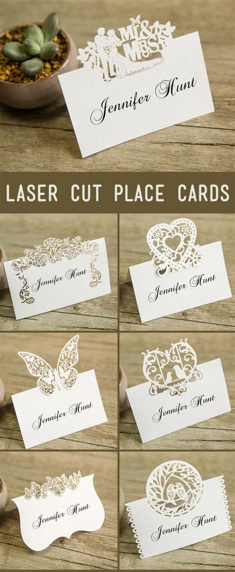 place card ideas best 25 wedding place cards ideas on place