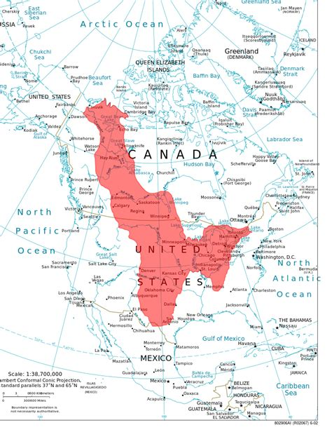 Where Is The Interior Plains Located In Canada by File Northamericainteriorplains Svg