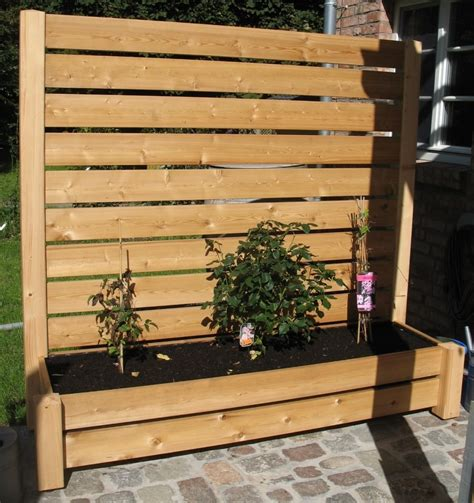 terrasse 50 cm hoch sichtschutzzaun holz 120 cm hoch bvrao