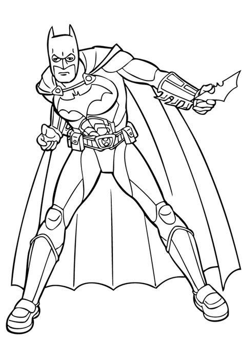 batman s action coloring pages hellokids com