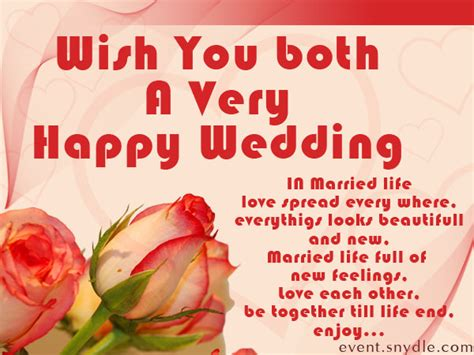 Wedding Wishes by Image Gallery Wedding Wishes