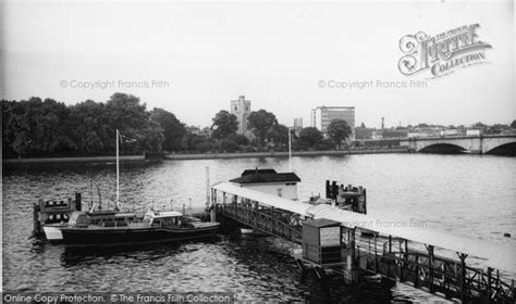thames river cruise putney putney the river thames and pier c 1960 francis frith